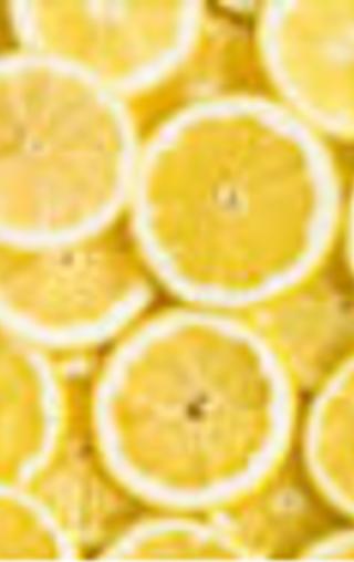 acid (in lemons)