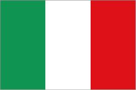 Flag of Italy handling of Coronavirus lockdown